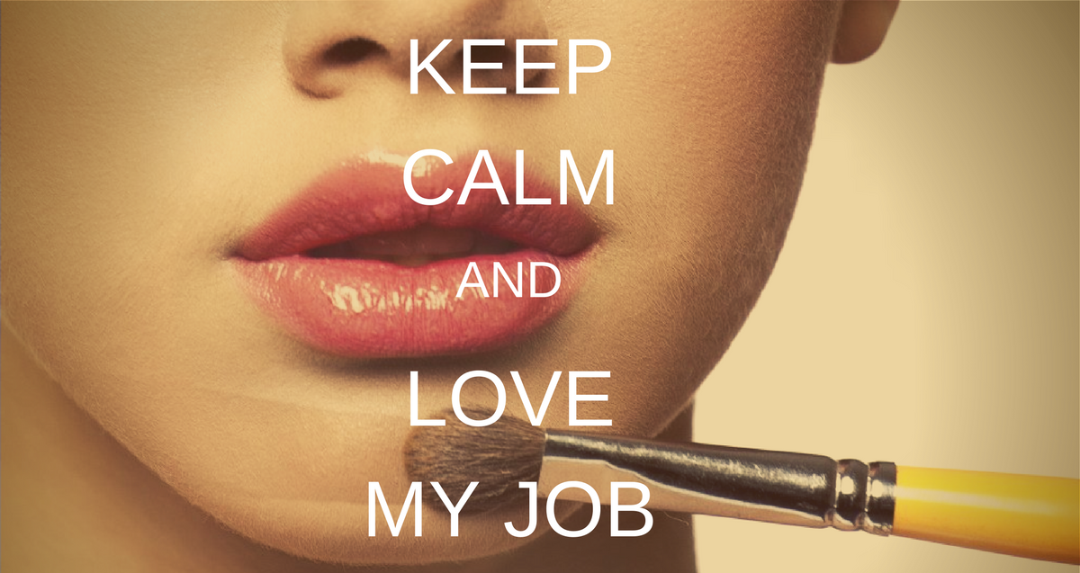 Esthetique tendance keep calm and love my job